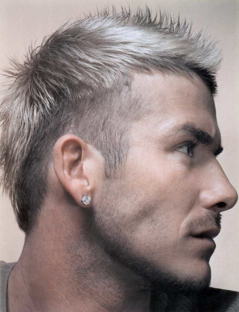 ベッカムの髪型 短髪のモヒカン ウルフカット 刈り上げヘア特集