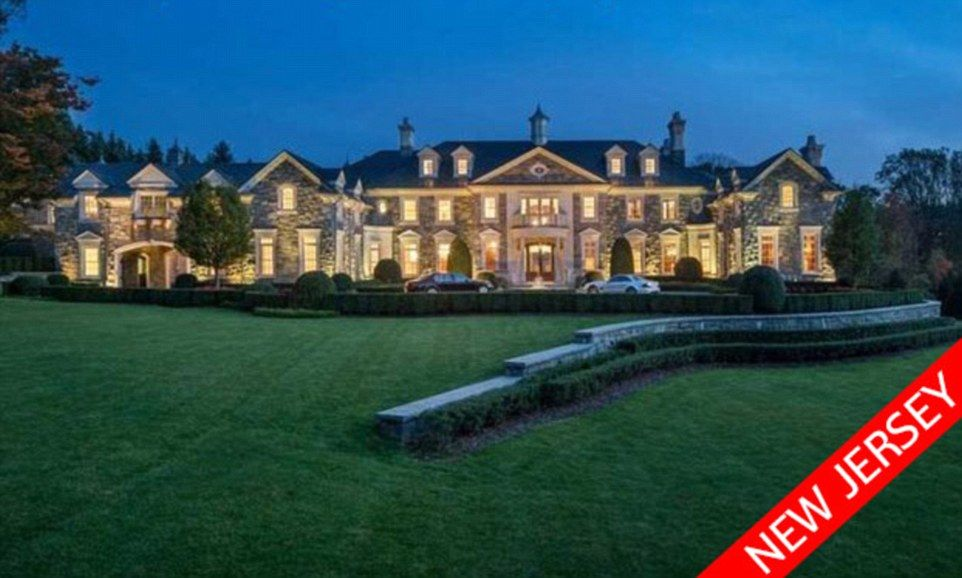 12 bedroom house. $48.8MILLION: The Stone Mansion In Alpine Has 12 Bedrooms, An Indoor Basketball Court Bedroom House C