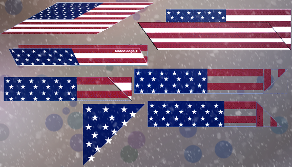 Instructions On How To Fold An American Flag American Flag Folding Flag Display Case Flag Display Memorial Flag Display