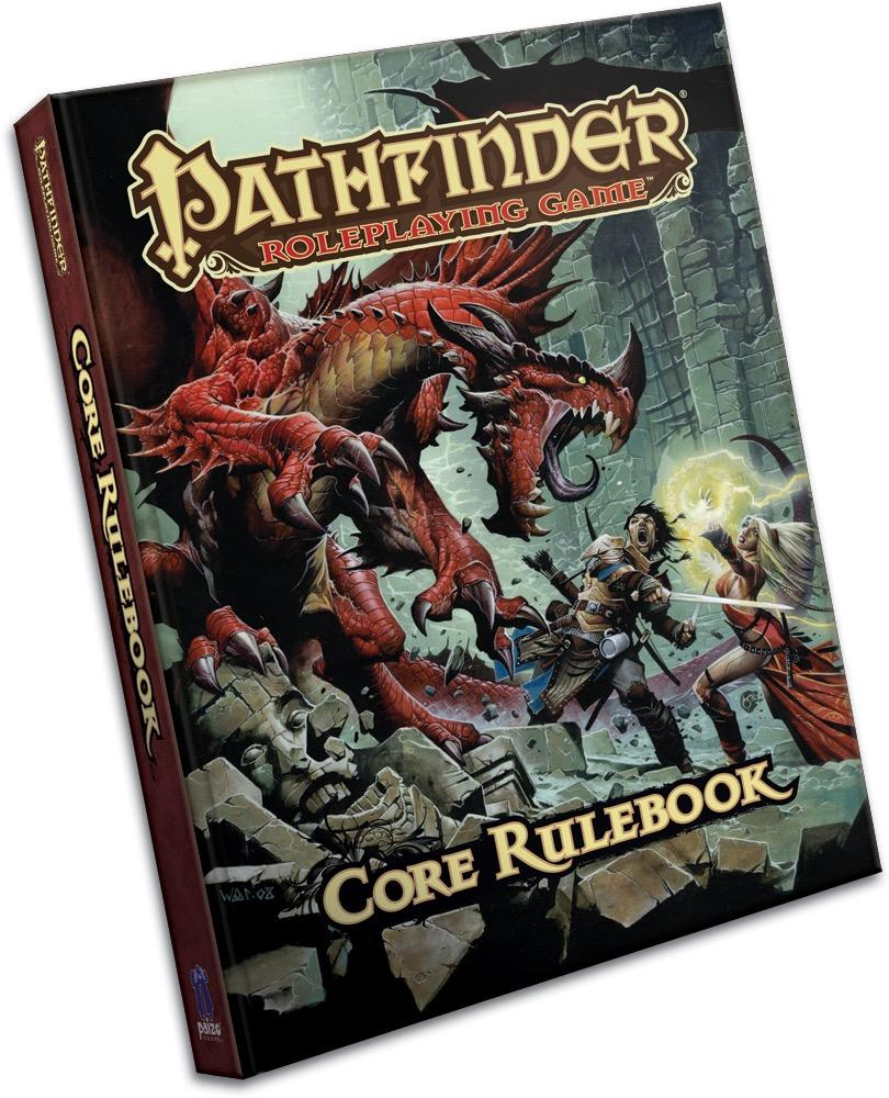 Pathfinder Roleplaying Game Core Rulebook Pocket Edition