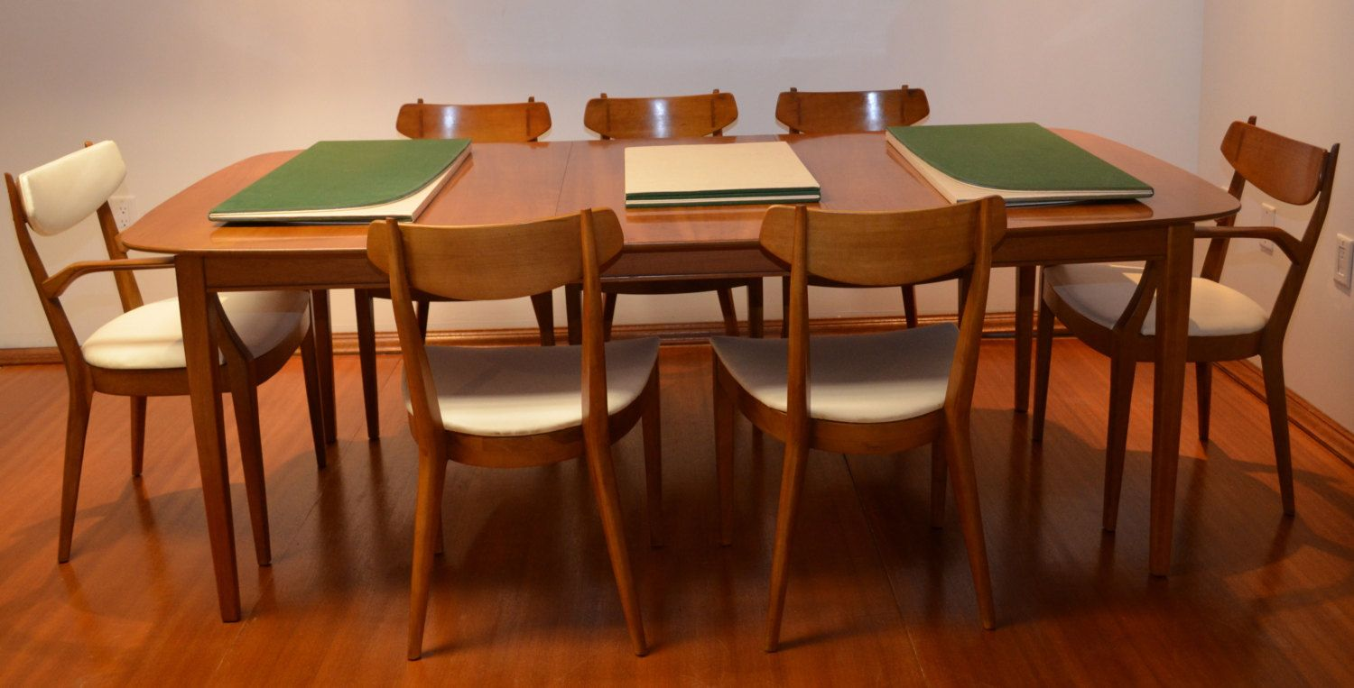 Kipp Stewart For Drexel Heritage Mid Century Modern Dining Table From The  RARE Sun Coast Collection