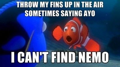 I'm so ashamed this made me laugh as hard as it did.finding nemo humor...we got it in us