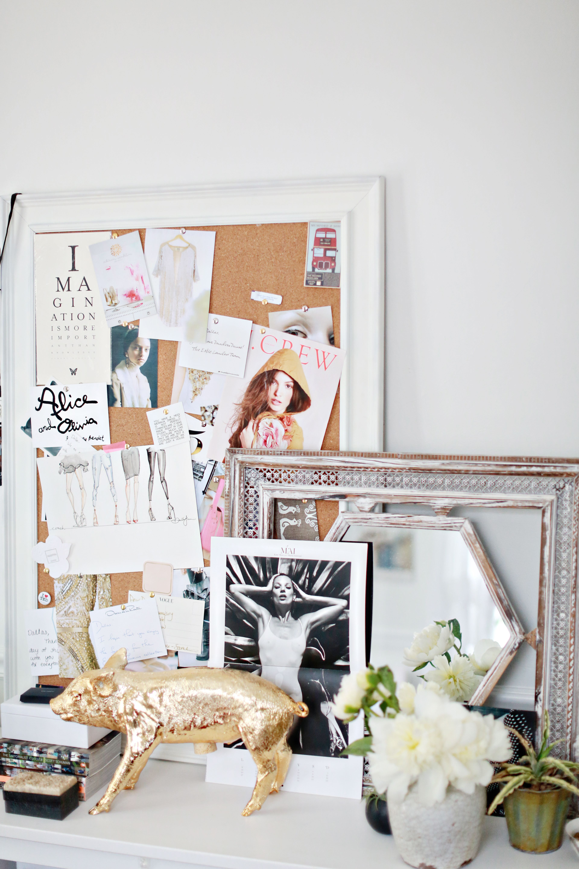 office decoration inspiration. { Rue Magazine } - Dallas Shaw. Desk OfficeOffice DecorOffice Office Decoration Inspiration I
