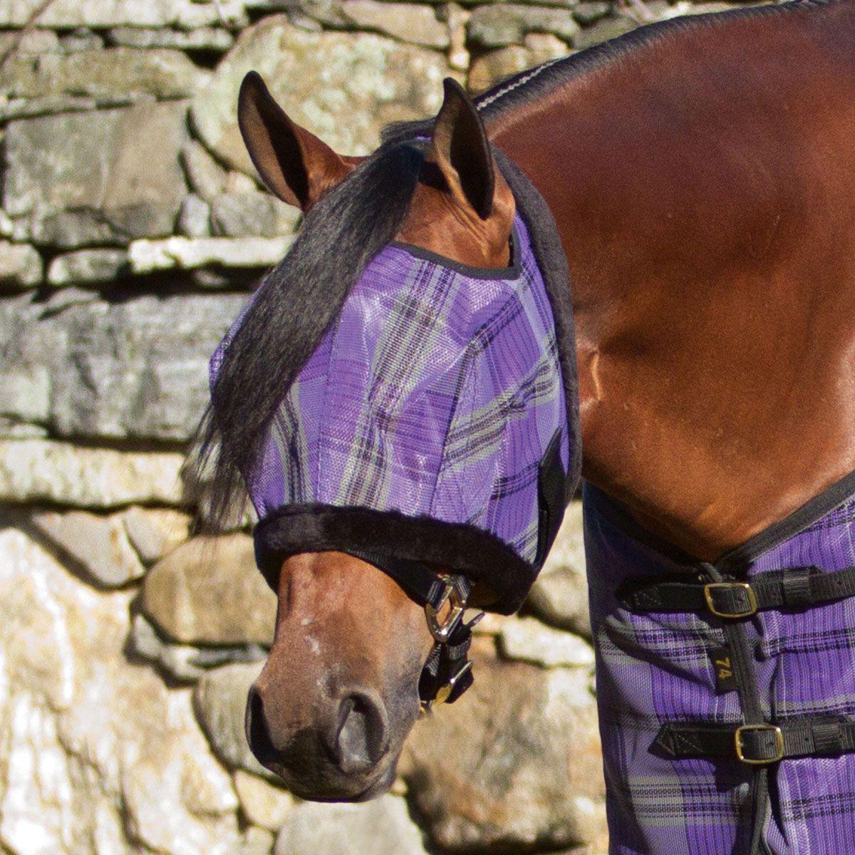 Kensington Fleece Fly Mask Made Exclusively For Smartpak Smartpak Equine Horse Fly Masks Smartpak