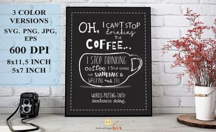 Quotes Coffee Typography 60+ Ideas #quotesaboutcoffee