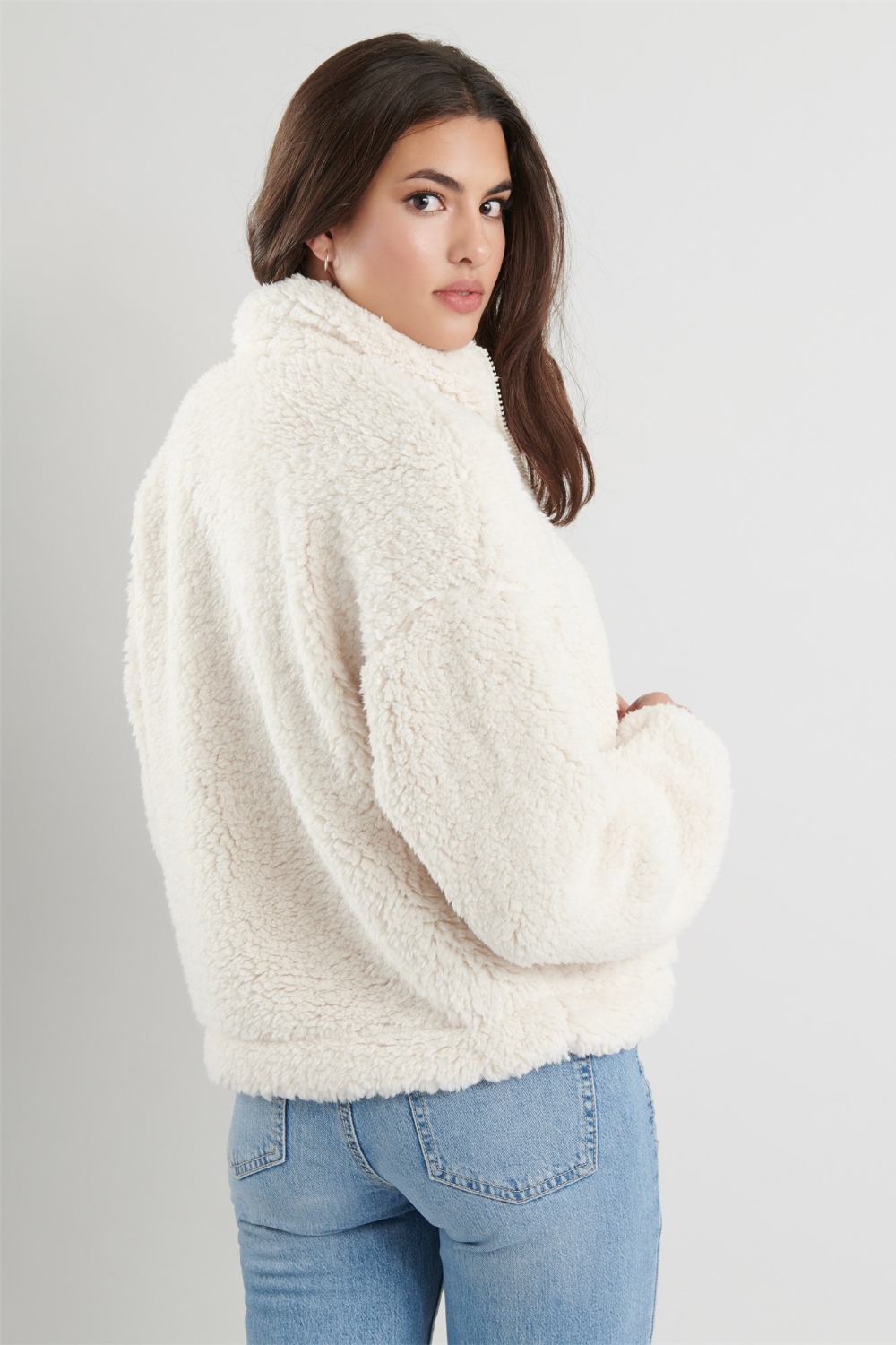 """The """"Too Cozy"""" Sherpa Zippie (With images) Sherpa jacket"""