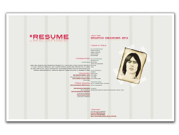 Using InDesign to Create a Designer Resume In Design Tutorials - indesign resume tutorial