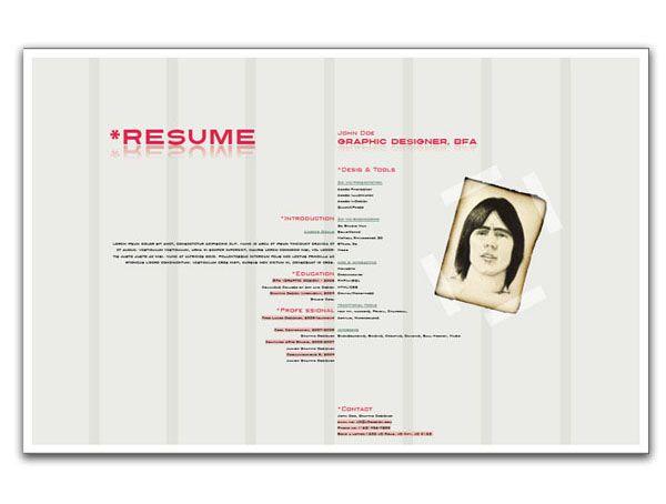 using indesign to create a designer resume tuts design