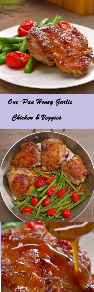 Pin by mia on recipes pinterest honey garlic chicken garlic one pan honey garlic chicken veggies my healthy life food forumfinder Images