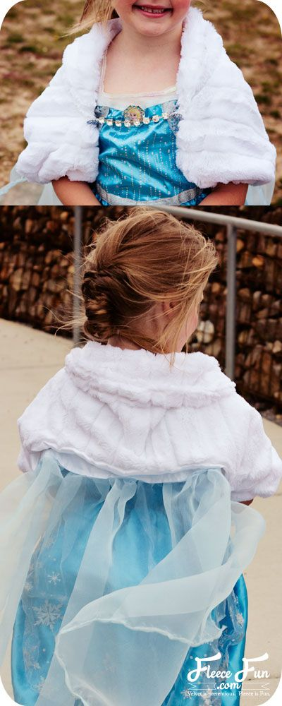 Elsa Cape tutorial with jacket inspired by Disney\'s Frozen (free pdf ...
