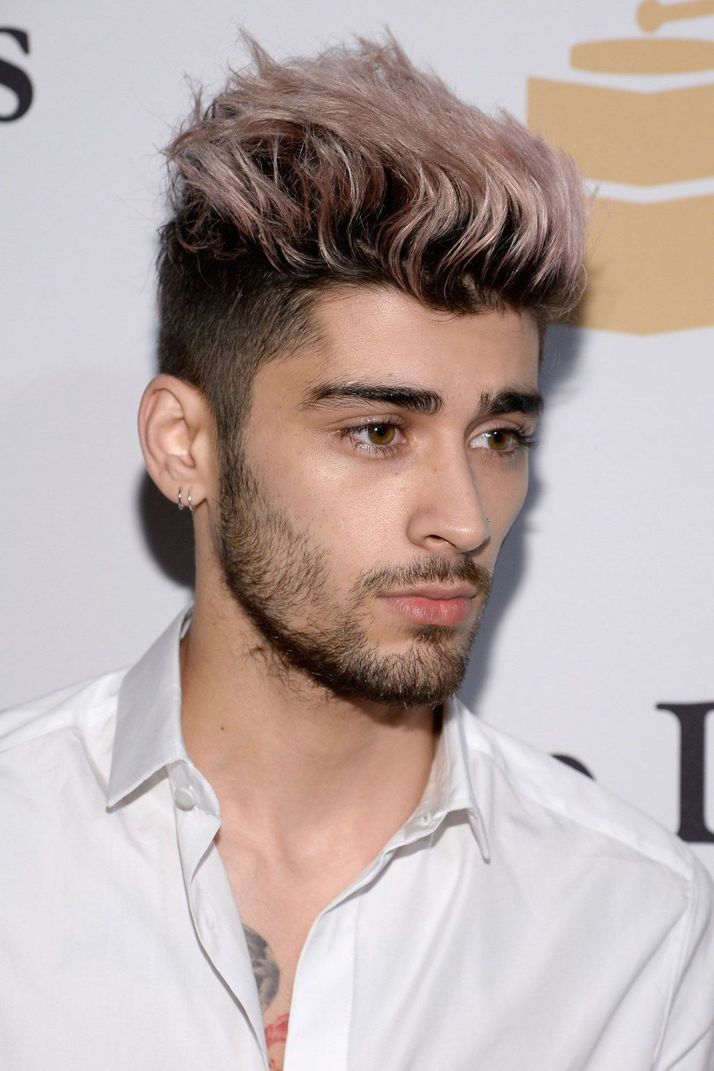 We are truly in the hands of a hair wizard.  Zayn malik hairstyle