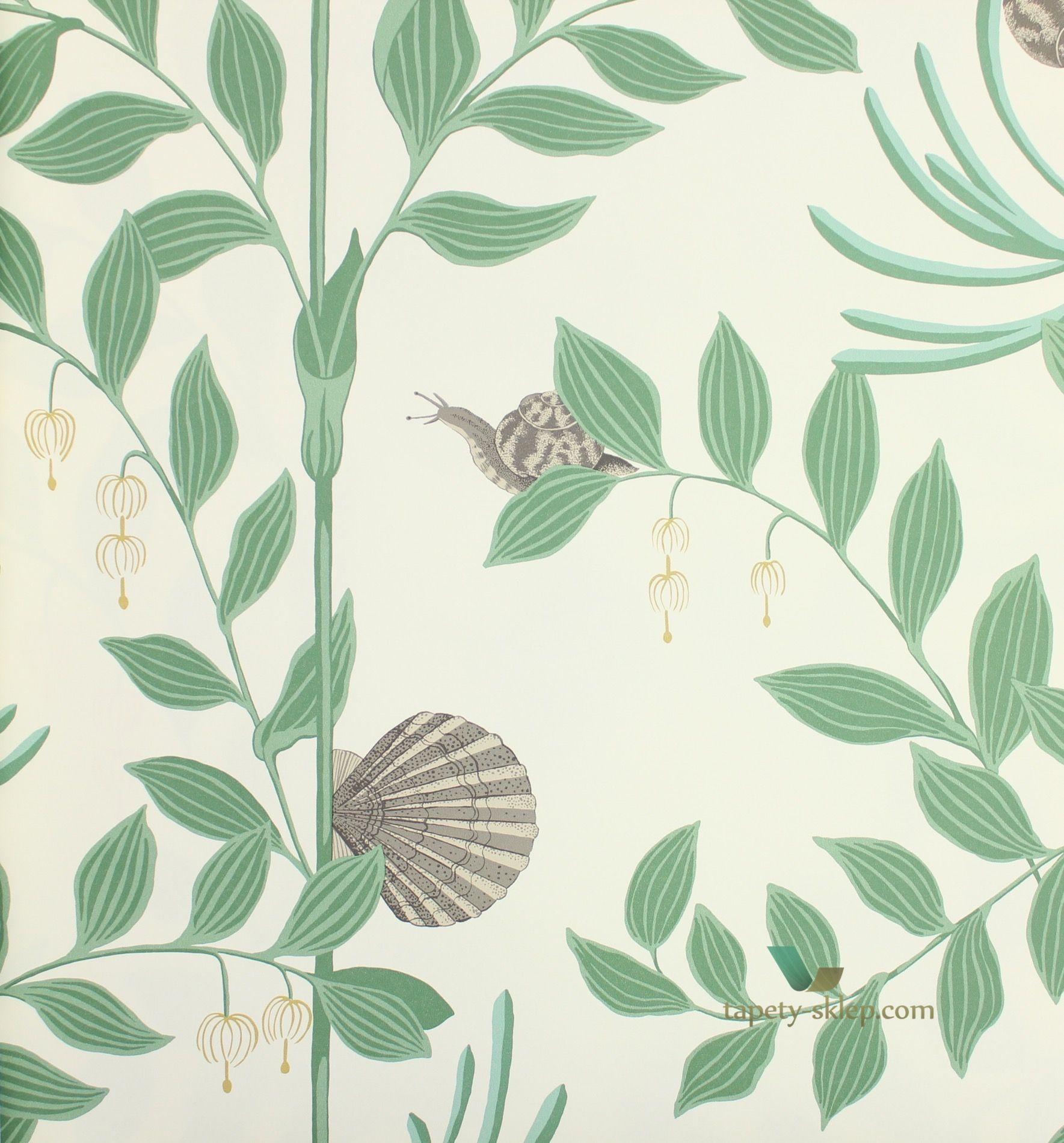Tapeta Cole Son 103 9030 Secret Garden Whimsical Dark Green