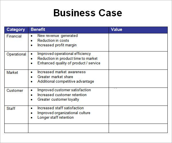 Business case template template pinterest business case business case template accmission Image collections