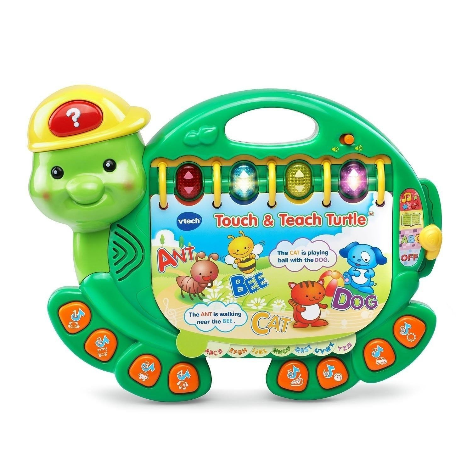 Vtech Touch And Teach Turtle Book Musical Toy Pinterest