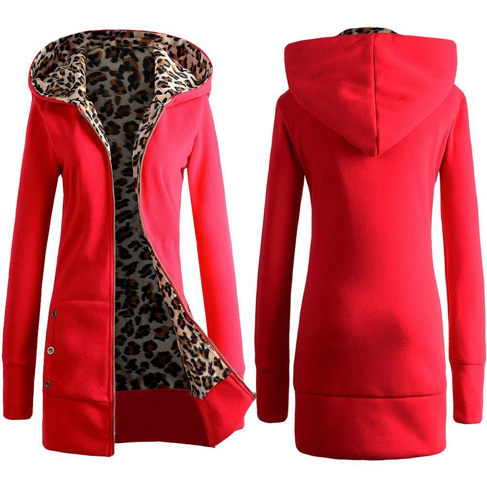 Women'S Long-Sleeved Hooded Cardigan Jacket | Envy-worthy ...