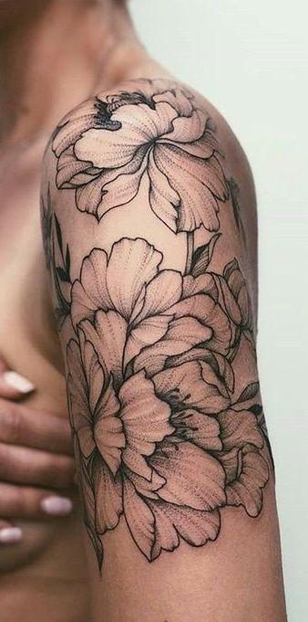 60 weibliche Tattoos auf der Schulter | #Frauen Tattoos