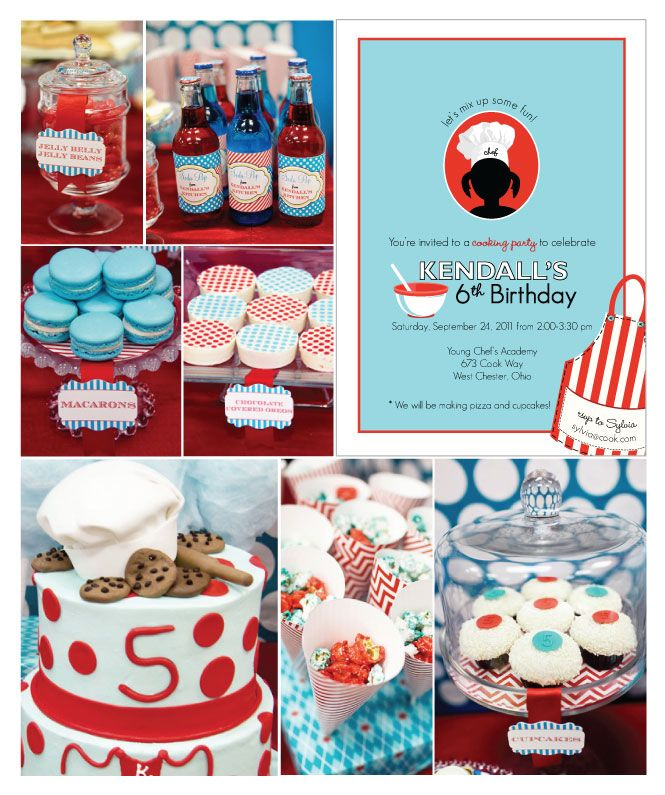 Chef-Party-Birthday-Party-Ideas | Kids Birthday Party Ideas ...