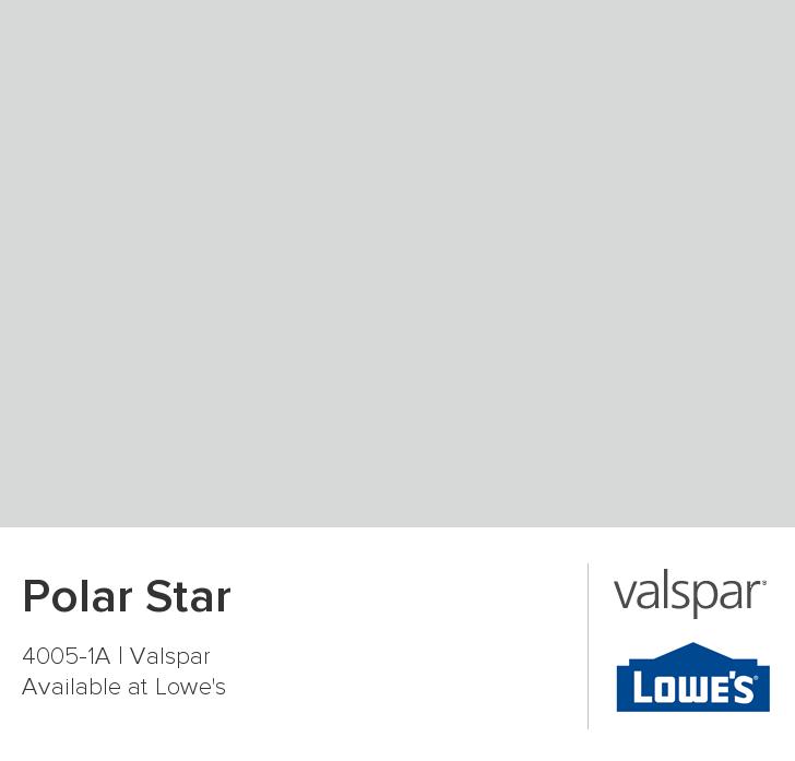 Polar Star From Valspar Bathroom? Upstairs. Hallway?