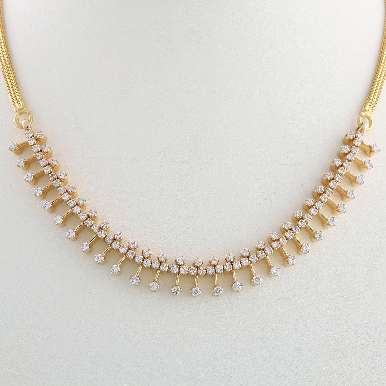 Pin by Tejaswini Kanaparthi on Necklace/Haaram Designs | Pinterest ...