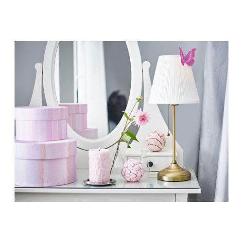 ikea rstid tischleuchte der stoffschirm sorgt fr gestreutes dekoratives licht - Makeup Eitelkeit Beleuchtung Ikea