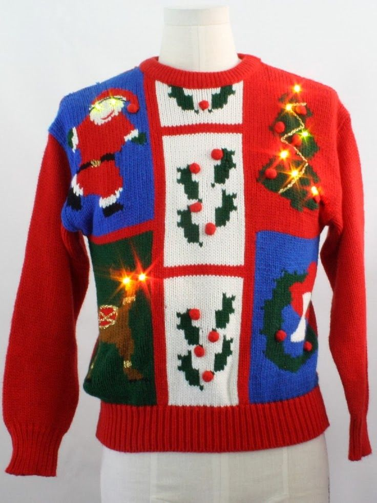 Using this to plan my Tacky Christmas Sweater Party-- tons of ideas
