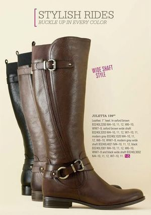 953c1e41442c Naturalizer Juletta Riding Boots. Great boot for narrow to wide feet. Even  comes in wide calf option  -) Reviewed at BarkingDogShoes.com