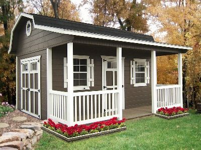 porch barns for sale in ohio amish buildings - Garden Sheds Ohio