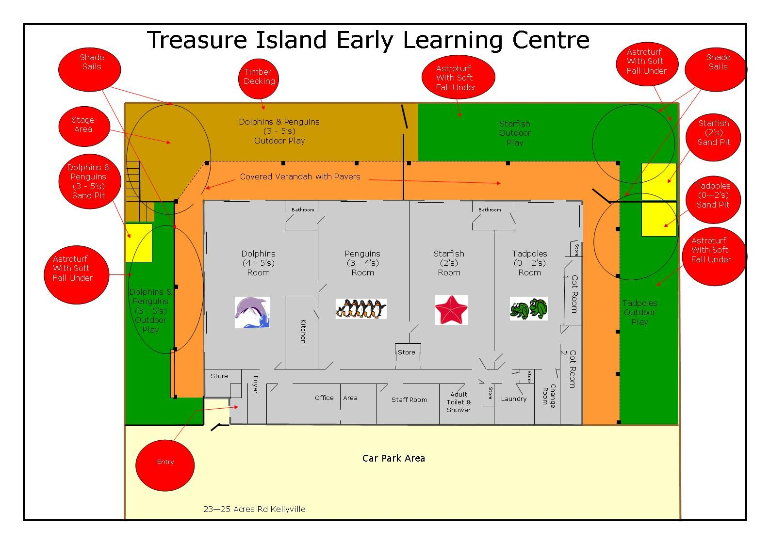 daycare floor plans Floor Plan of Kids World Day Care in
