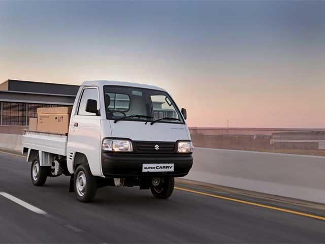 Maruti Rolls Out Its First Light Commercial Vehicle Super Carry Maruti Rolls Out Its First Light Commercial Vehicle Commercial Vehicle Suzuki Vehicles