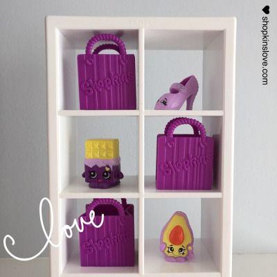 Purple. #spkfan #shopkins #shopkinslove #shopkinsworld #moosetoys #heels #cheekychocolate #dippyavocado