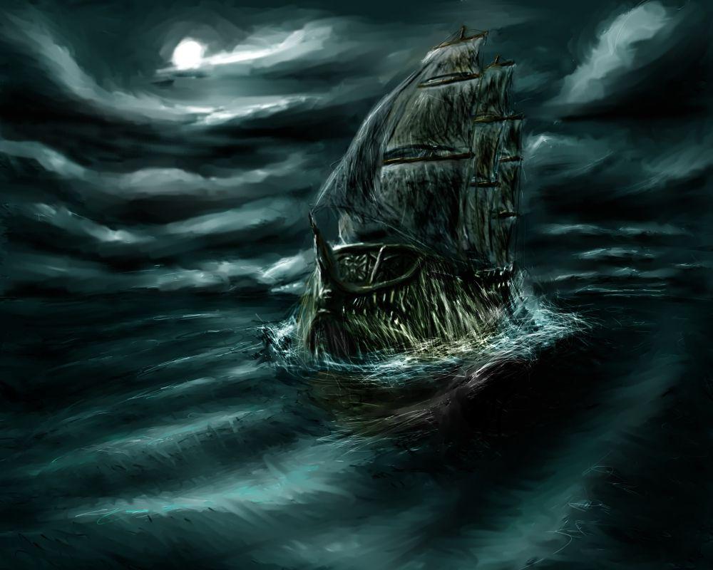 Flying Dutchman Pirates Of The Caribbean Kapal Caribbean