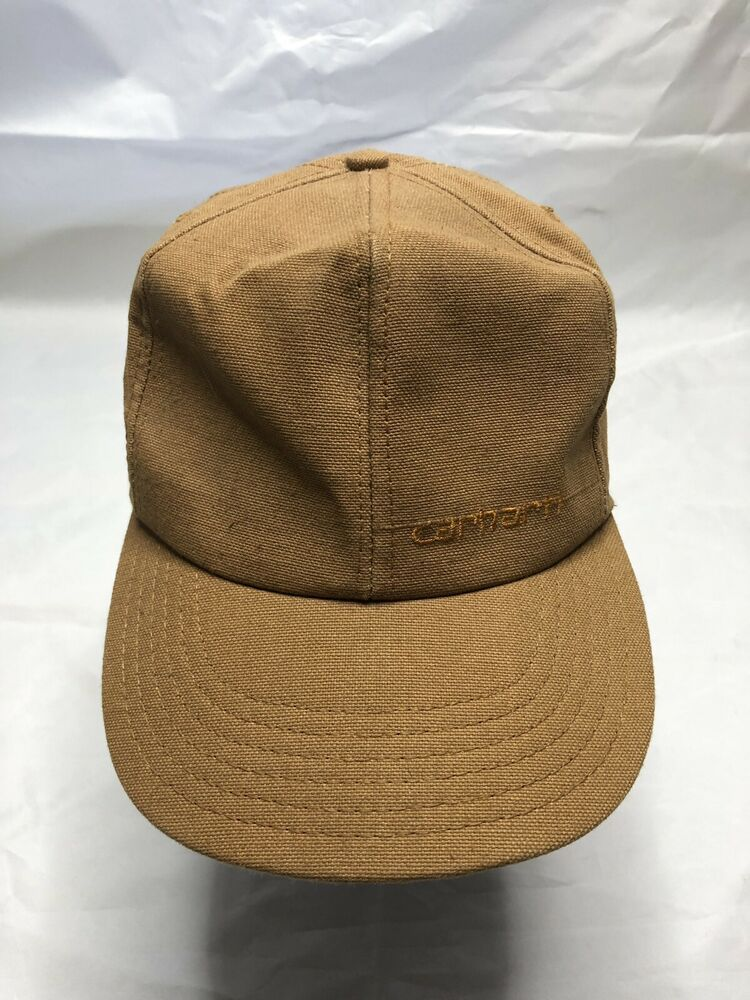 ae196c3e Carhartt Hat Vintage Snapback USA Made Work Wear Tan #Carhartt ...