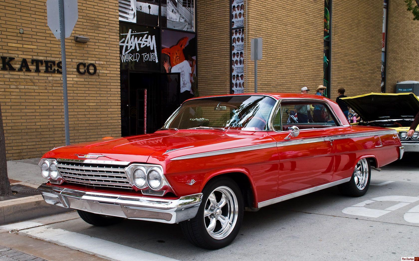 Impala 97 chevy impala : 1962 Impala, red 2-door - I love red - Sweeet Ride! | The Need For ...