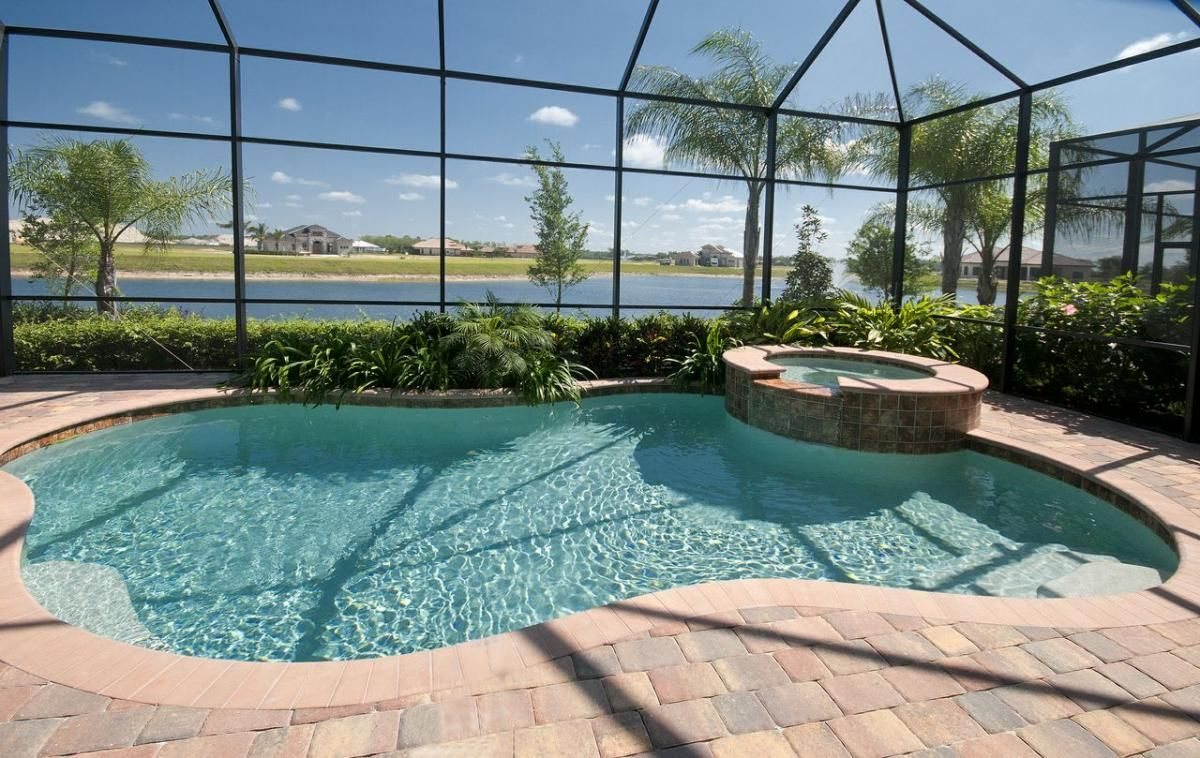 Picture gallery florida pool service landscaping the - Above ground swimming pools orlando florida ...