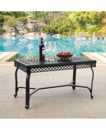 Portofino Cast Aluminum Coffee Table
