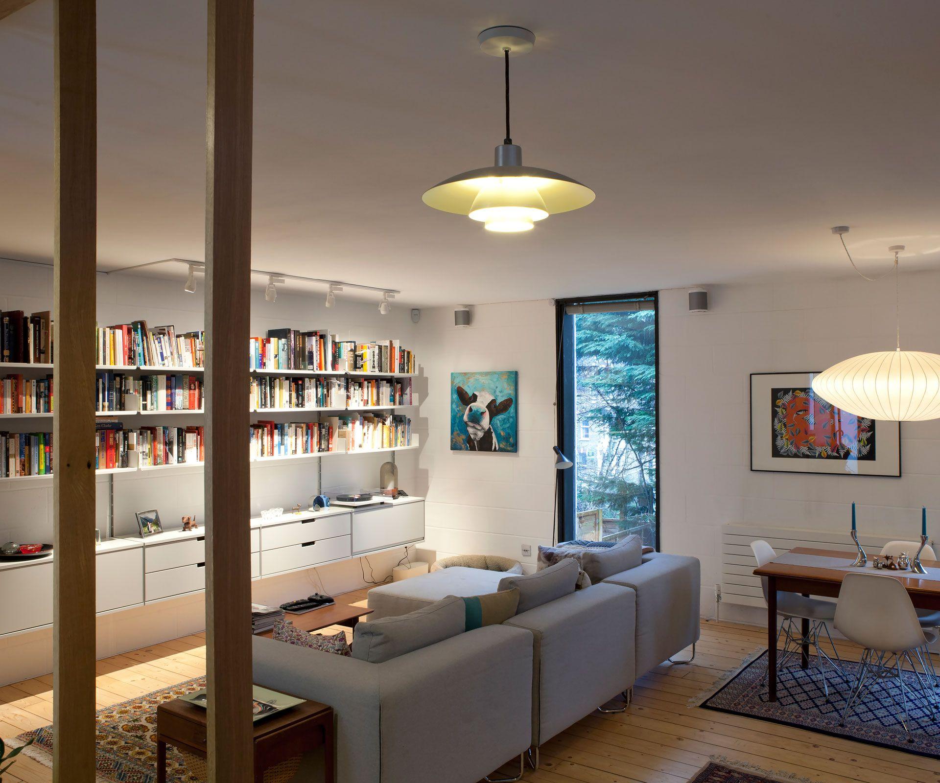 Celebrated New Zealand architect Peter Beaven's London
