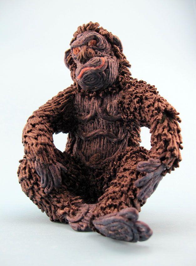 Gorilla!  #artsandcrafts #wikkistix