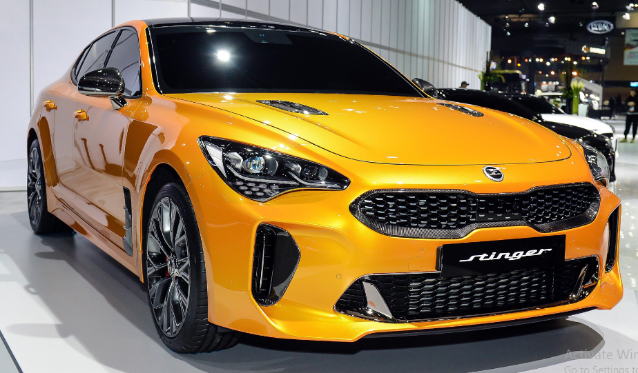 2019 Kia Stinger Review Specs And Price Autos Coches Y Motocicletas Automoviles