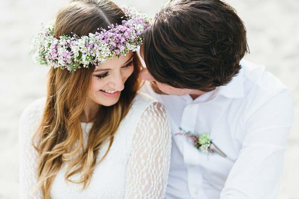 verträumtes after-wedding fotoshooting am strand