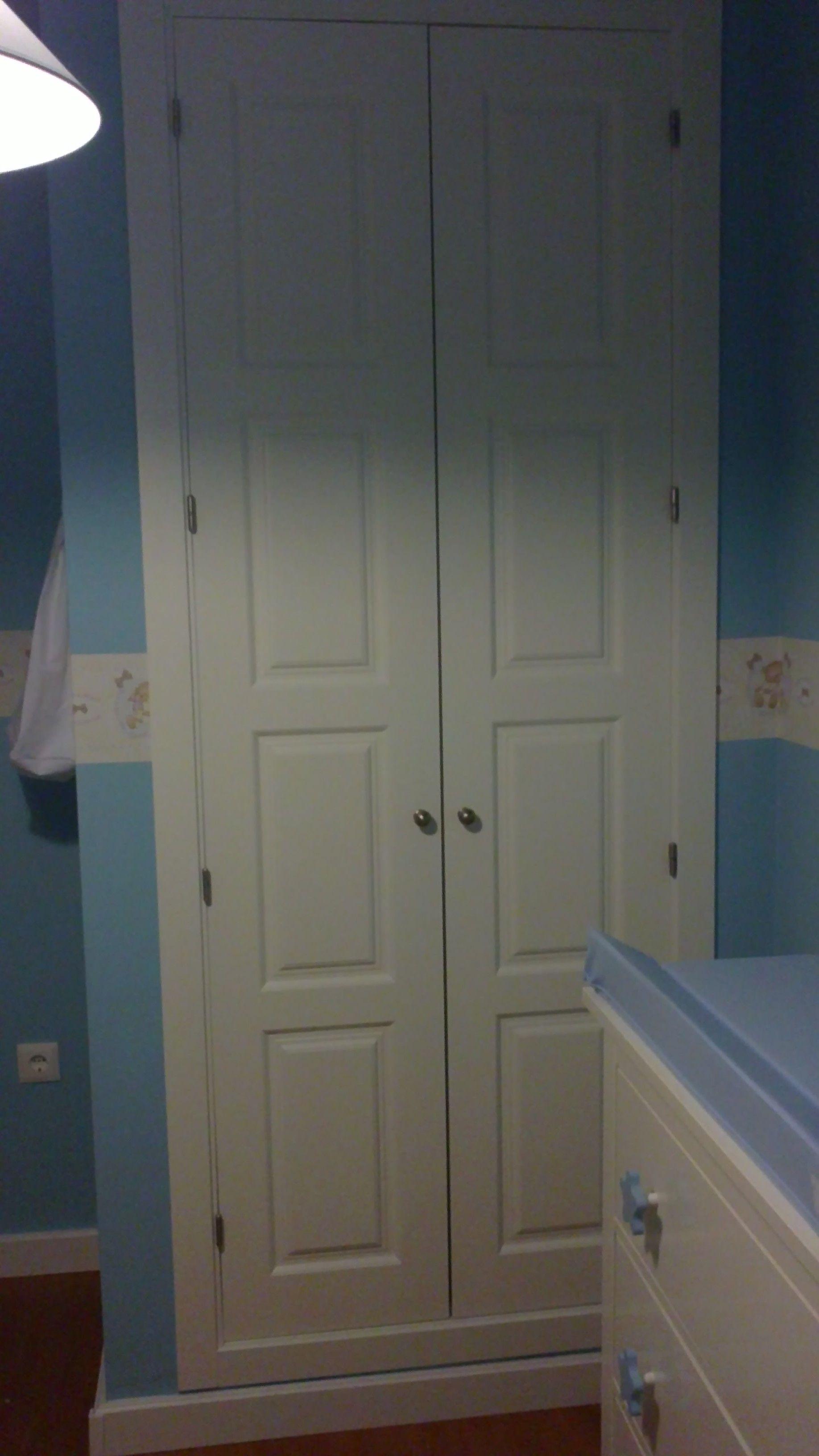 2 Hojas 5400 lacado blanco   Armarios de puertas abatibles   Pinterest