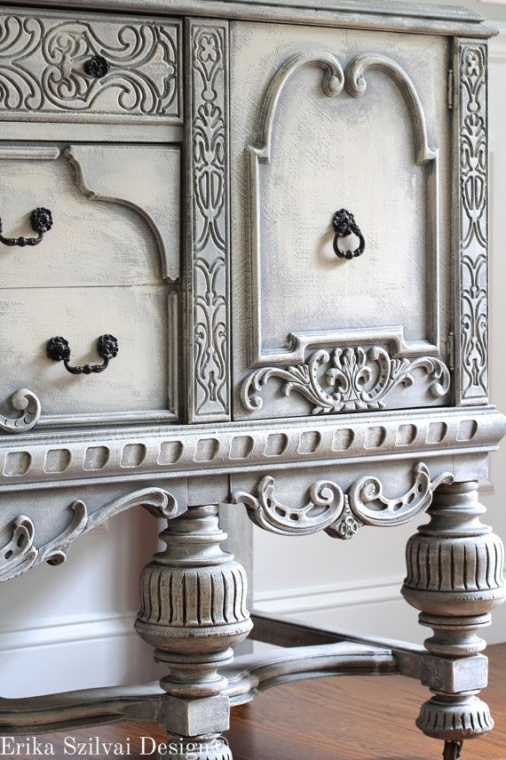 Amazing Living Room Cabinet Designs Antique Showcase Using: RARE Antique Ornate Carved Jacobean Hand