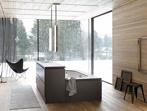 Badezimmer moderne deko interessant design ideen home