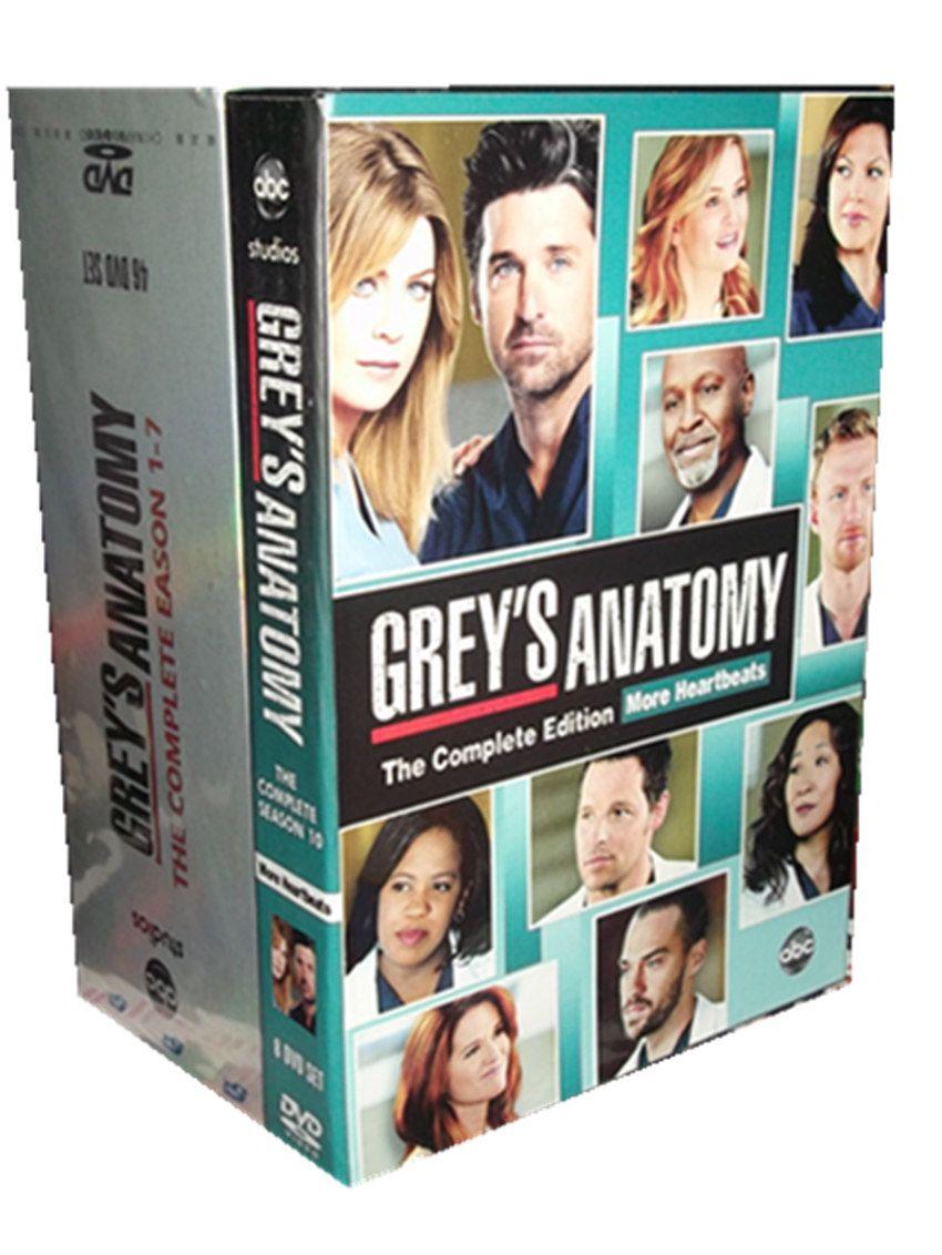 Greys Anatomy Seasons 1 11 Dvd Box Set Greys Anatomy Merder