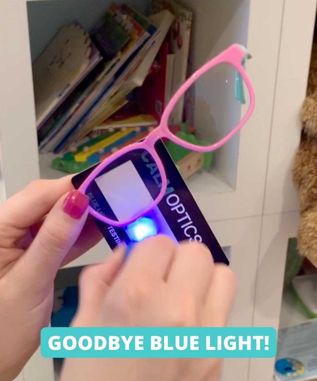 CalmOptics™ - Blue Light Blocking Glasses for Kids
