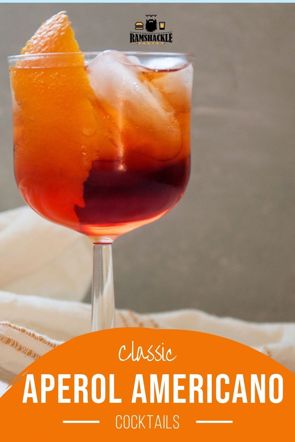 Aperol Americano Cocktail In 2020 Mixed Drinks Recipes Italian Cocktail Recipes Sweet Drinks