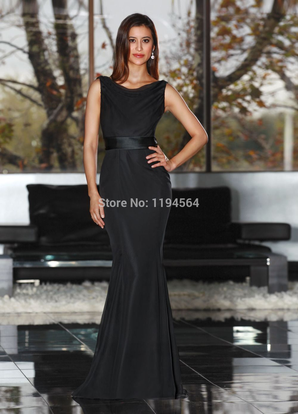 Click to buy fashion 2014 bridesmaid dresses black taffeta click to buy fashion 2014 bridesmaid dresses black taffeta dress to wedding ombrellifo Image collections