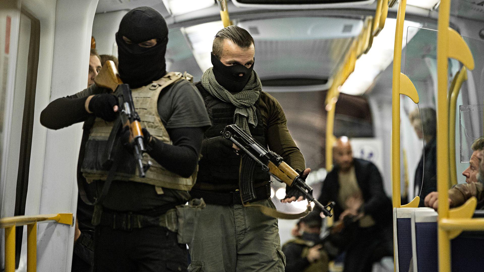 Copenhagen, 2017. 15 Innocent People Are Held Hostage
