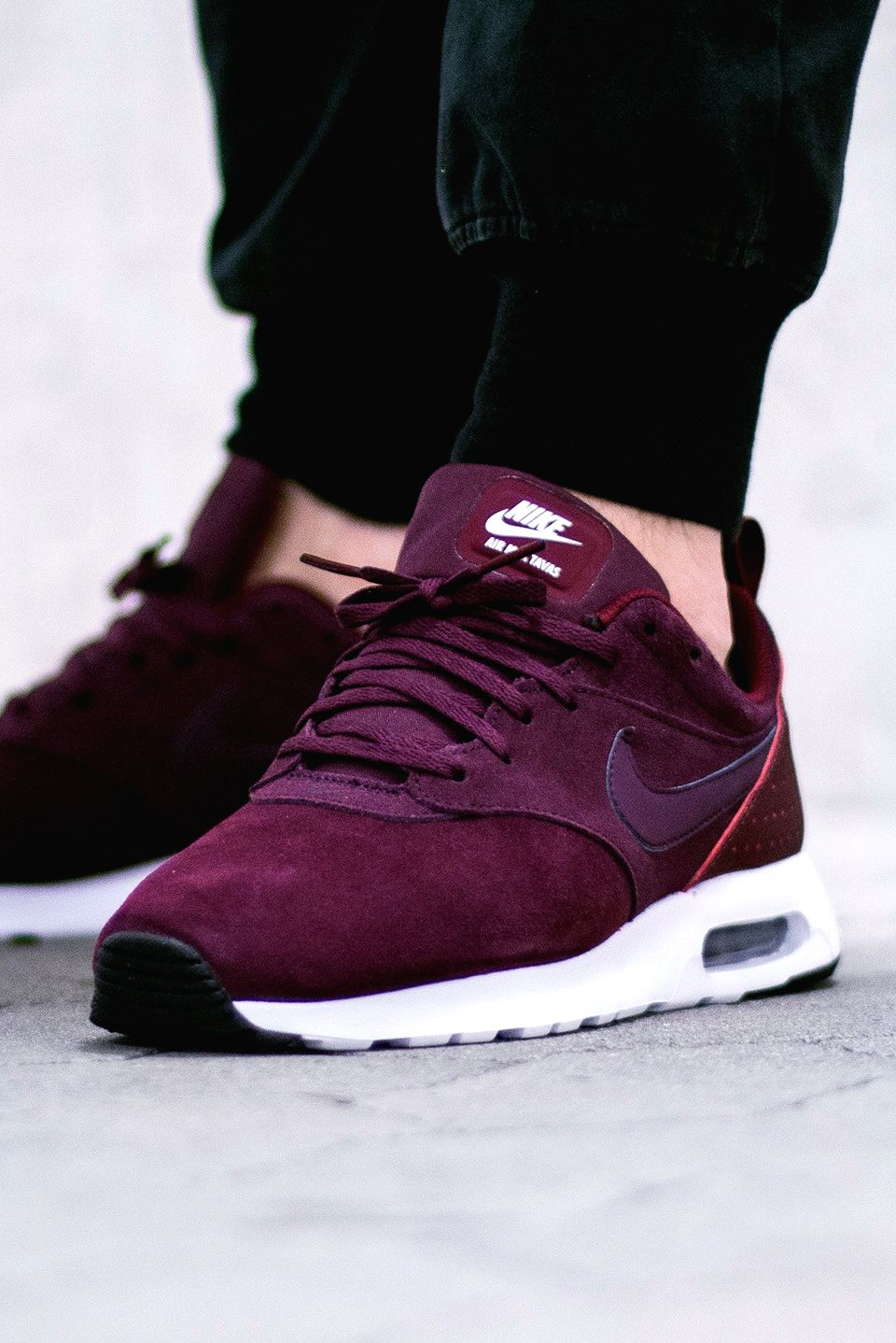 1ddf3b59759f33 Nike Air Max Tavas LTR  Night Maroon  (via Kicks-daily.com)
