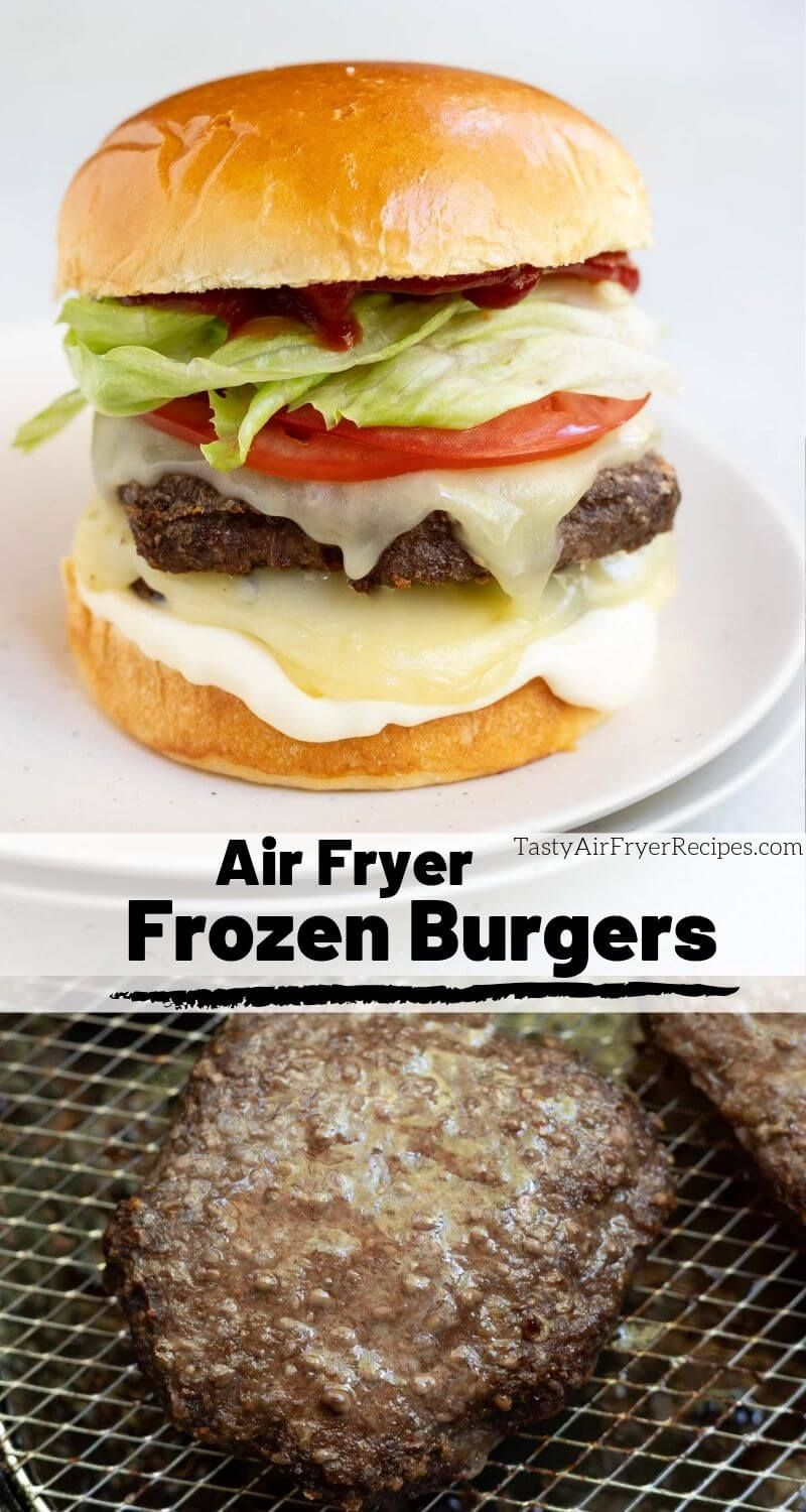 Yes you can cook Frozen Burgers In Air Fryers! Skip the
