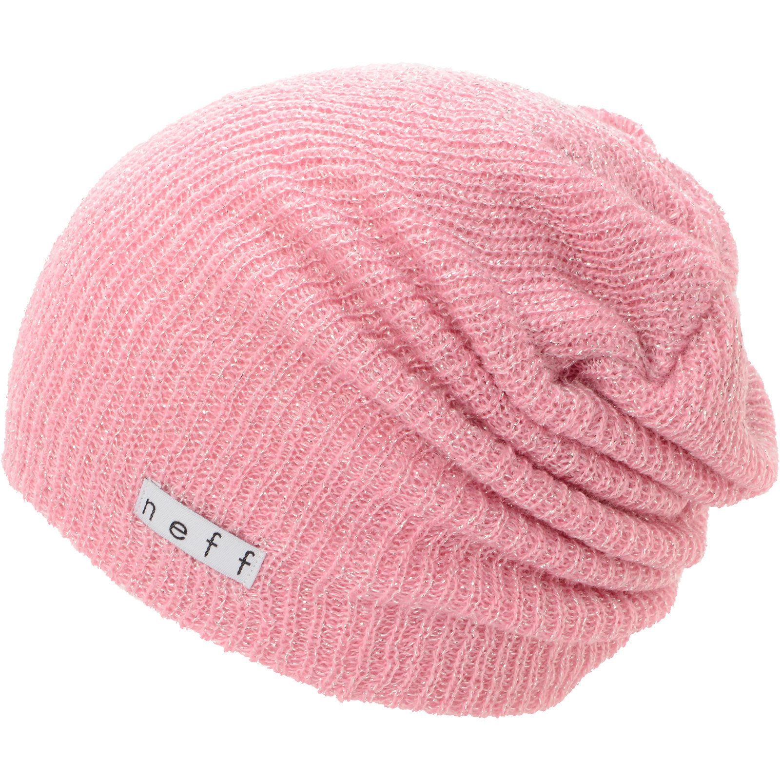 bb3c66a4bd7 Neff Girls Daily Sparkle Pink Beanie at Zumiez   PDP Slouchy Beanie Hats